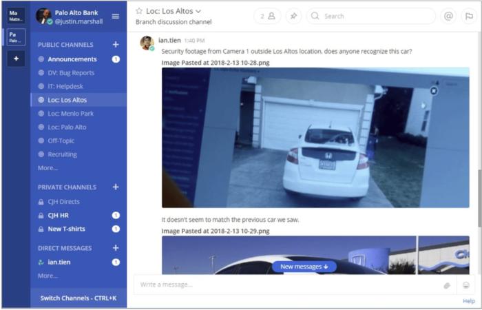 Security Footage Screenshot